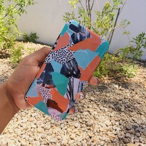 iPhone 6(s) Mint and Orange Silicone Case